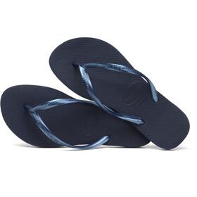 havaianas Slim Flips Women navy blue